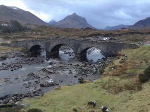 Telford Bridge and Black Cuillin, Skye